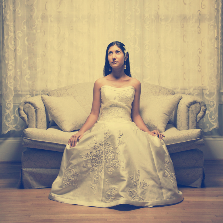 Romantikus esküvő -smink