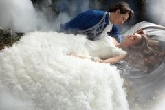Csipkerózsika menyasszonyi ruhája